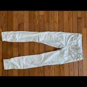 White PACSUN lace up jeans